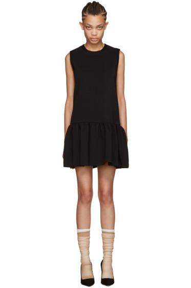 Miu Miu - Black Drop Waist Dress