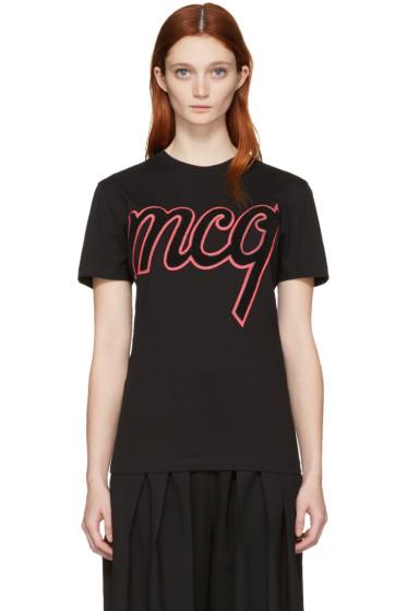 McQ Alexander Mcqueen - Black Classic Logo T-Shirt