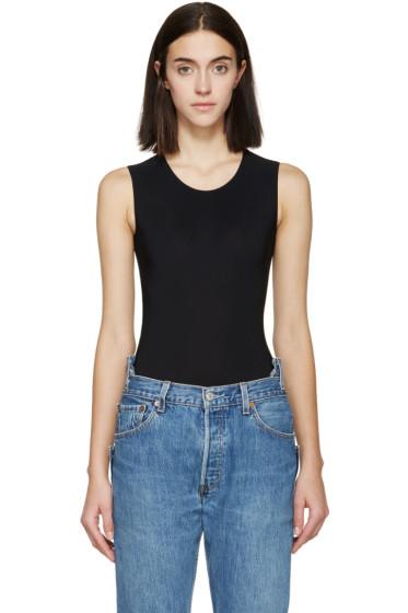 Maison Margiela - Black Jersey Bodysuit