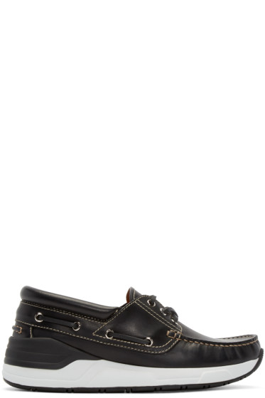 Givenchy - Black Leather Hamptons Sneakers