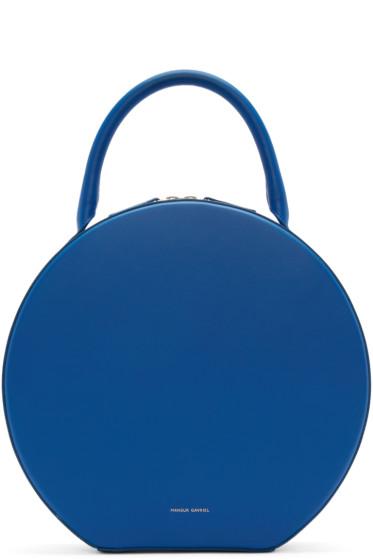 Mansur Gavriel - Blue Leather Circle Bag