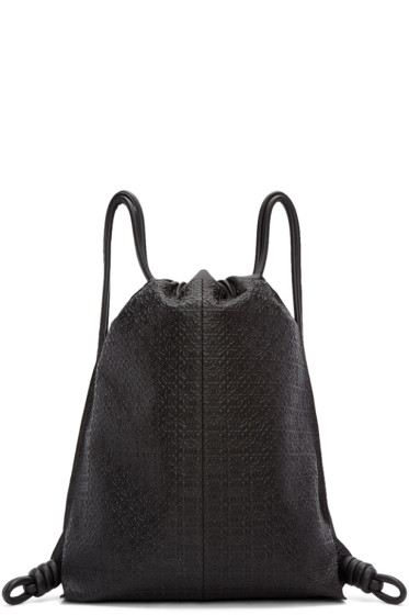 Loewe - Black Anagram Yago Backpack