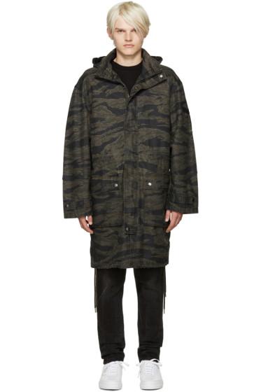 Diesel - Black Camo J-Tiger Coat
