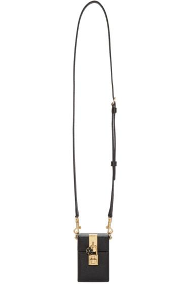 Dolce & Gabbana - Black Leather Small Box Bag