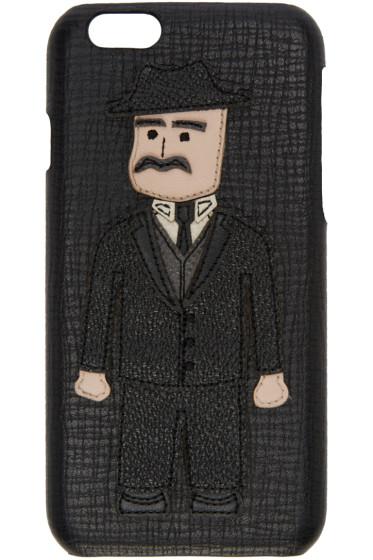 Dolce & Gabbana - Black Sicilian Man iPhone 6 Case