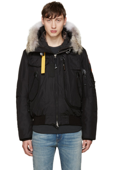 Parajumpers - Black Down Gobi Coat