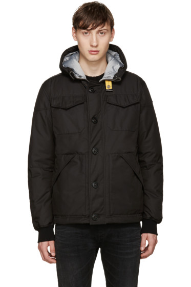 Parajumpers - Black Down Parker Jacket