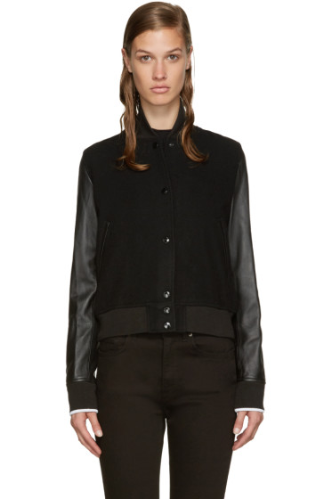 Rag & Bone - Black Camden Bomber JAcket
