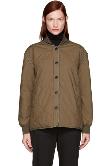 Rag & Bone - Green Quilted Addison Jacket