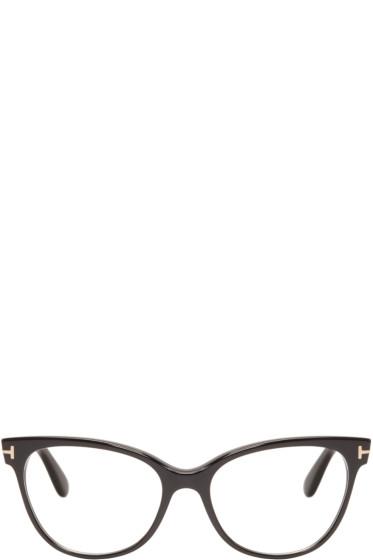Tom Ford - Black TF5291 Cat-Eye Optical Glasses