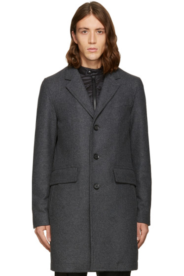 Belstaff - Grey Bradbourne Coat