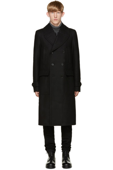 Belstaff - Black Wool Milton Wool Coat
