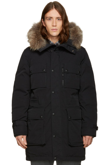 Belstaff - Black Down Enduro Speedmaster Parka