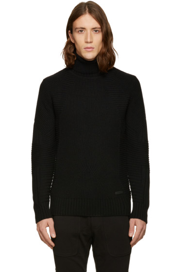 Belstaff - Black Littlehurst Turtleneck