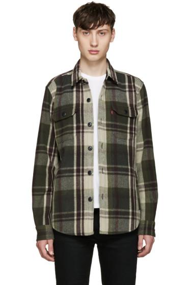 Levi's - Green Wool Worker Jacket