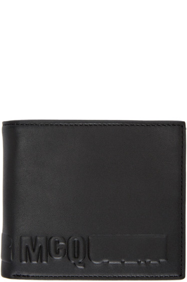 McQ Alexander Mcqueen - Black Logo Wallet