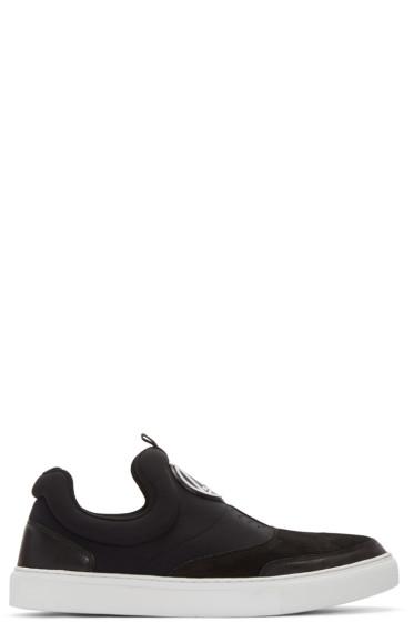 McQ Alexander Mcqueen - Black Youko Mid-Top Sneakers