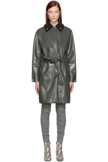 Acne Studios - Grey Blanky Varnish Coat