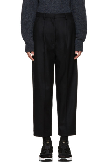 Acne Studios - Navy Wool Milli Trousers