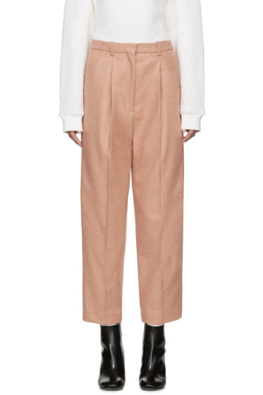 Acne Studios - Pink Wool Milli Trousers
