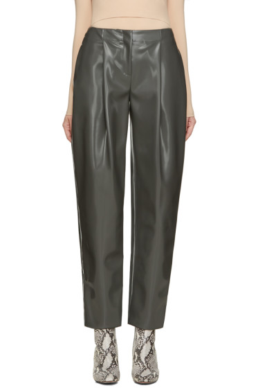 Acne Studios - Grey Selah Varnish Trousers