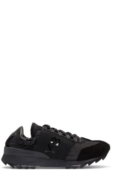 Y-3 - Black Rhita Sport Sneakers