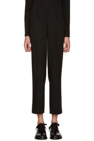 Helmut Lang - Black Cropped Trousers