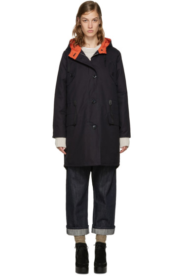 YMC - Navy Fishtail Parka