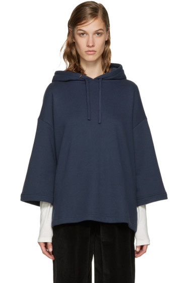 YMC - Navy French Terry Hoodie