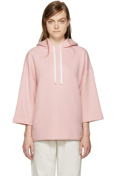 YMC - Pink French Terry Hoodie