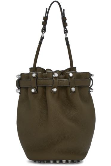 Alexander Wang - Green Small Diego Bucket Bag