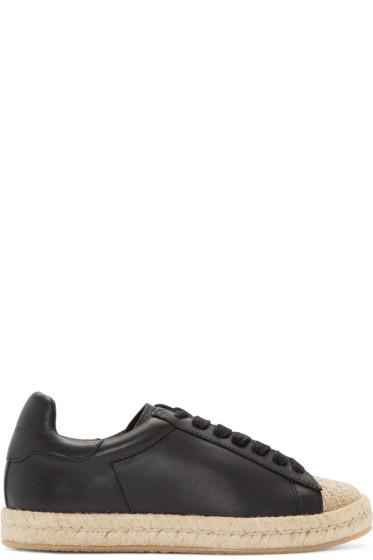 Alexander Wang - Black Rian Espadrille Sneakers