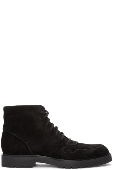 Alexander Wang - Black Suede Kaleb Boots