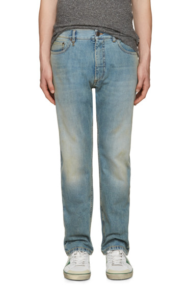 Marc Jacobs - Blue Straight-Leg Jeans