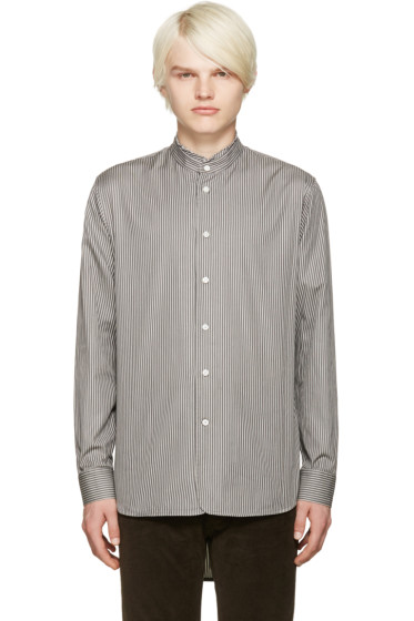 Marc Jacobs - Grey Micro Stripe Shirt