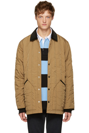 T by Alexander Wang - Brown Quilted Jacket