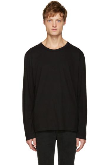 T by Alexander Wang - Black Classic T-Shirt