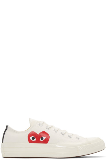 Comme des Garçons Play - Off-White Converse Edition Low-Top Sneakers