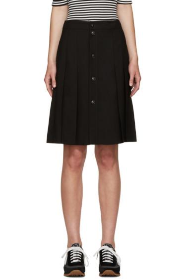 A.P.C. - Black Town Miniskirt