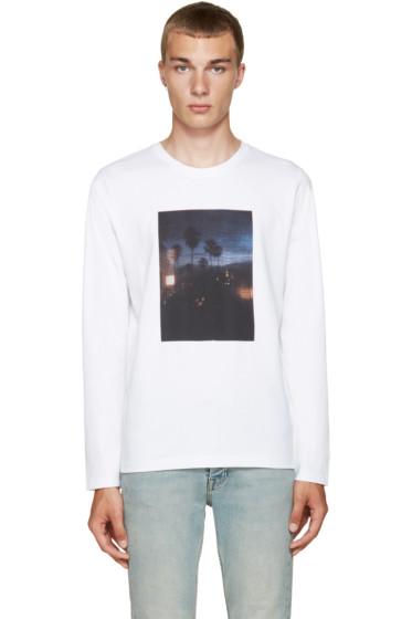 A.P.C. - White LA T-Shirt