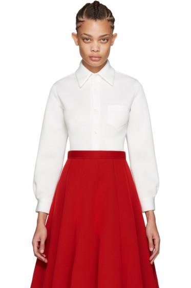 Junya Watanabe - White Ponte Shirt