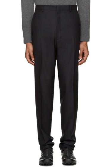 Lanvin - Navy Wool Trousers