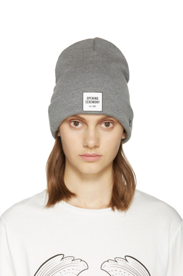 Opening Ceremony - Grey New Era Edition Beanie