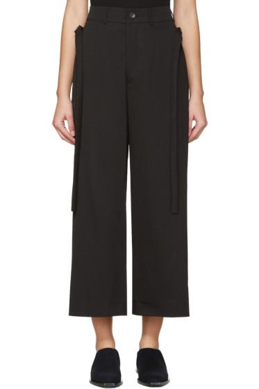 Damir Doma - Black Wool Trousers