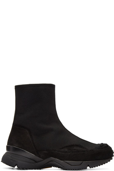 Damir Doma - Black Fitzgerald High-Top Sneakers