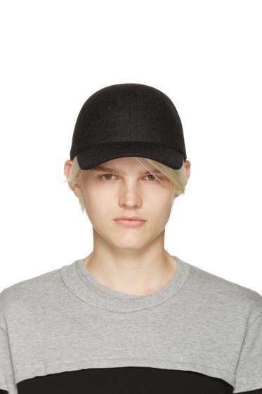Comme des Garçons Shirt - Grey Felted Wool Cap