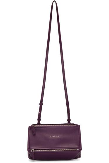 Givenchy - Purple Mini Pandora Bag