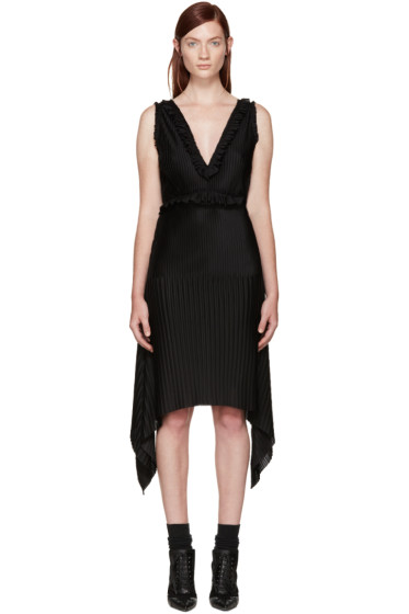 Givenchy - Black Pleated Dress