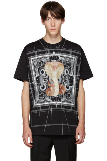 Givenchy - Black Cobra T-Shirt