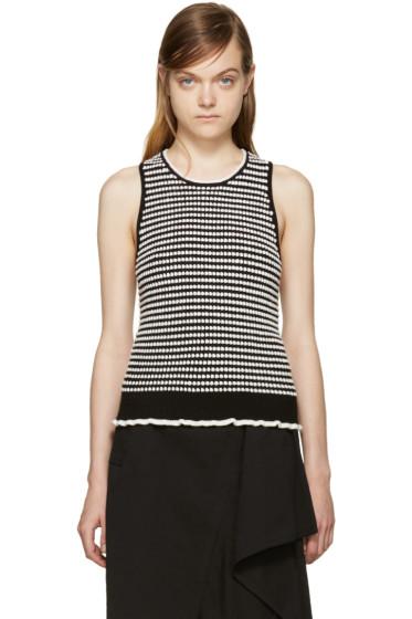 3.1 Phillip Lim - Black & White Knit Top